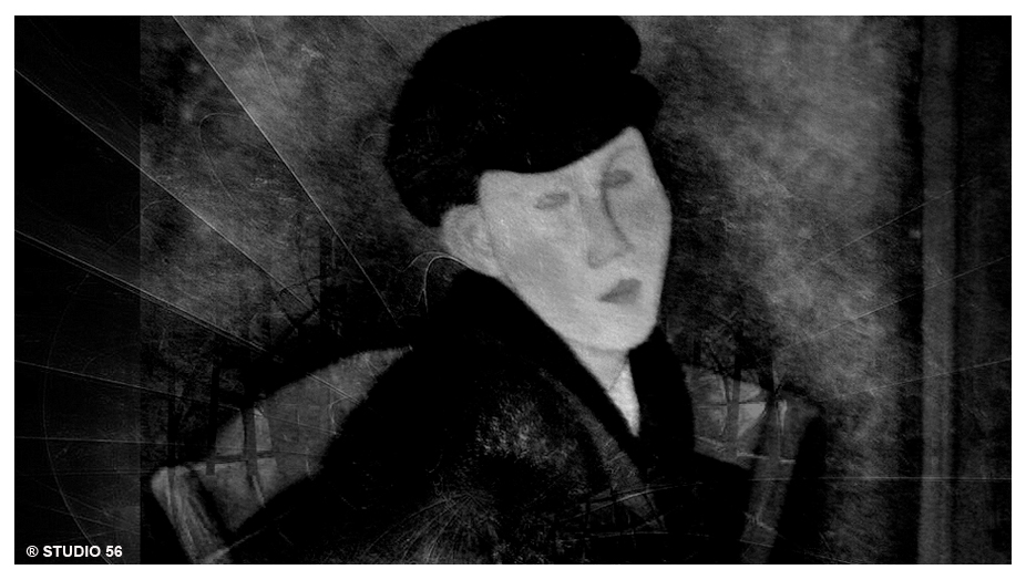 A1-Digi-Art-Modigliani-in zwart-wit-in kader-def-STUDIO 56